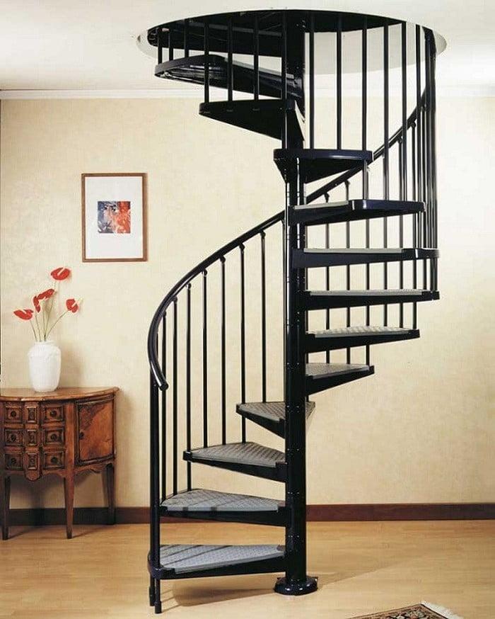 Cầu thang sắt xoắn ốc